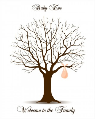 009 Rare Family Tree For Baby Book Template High Def  Printable320