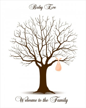 009 Rare Family Tree For Baby Book Template High Def  Printable360