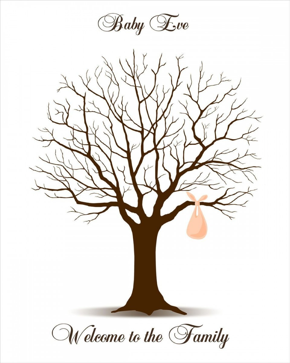 009 Rare Family Tree For Baby Book Template High Def  Printable960