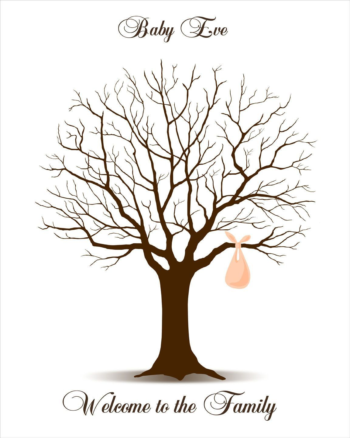 009 Rare Family Tree For Baby Book Template High Def  PrintableFull