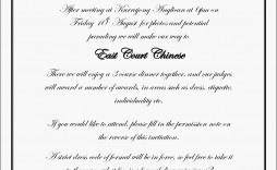 009 Rare Formal Wedding Invitation Template Inspiration  Templates Email Format Wording Free