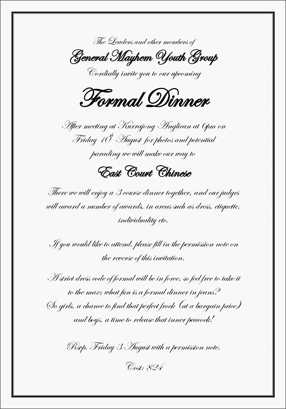 009 Rare Formal Wedding Invitation Template Inspiration  Templates Email Format Wording FreeFull