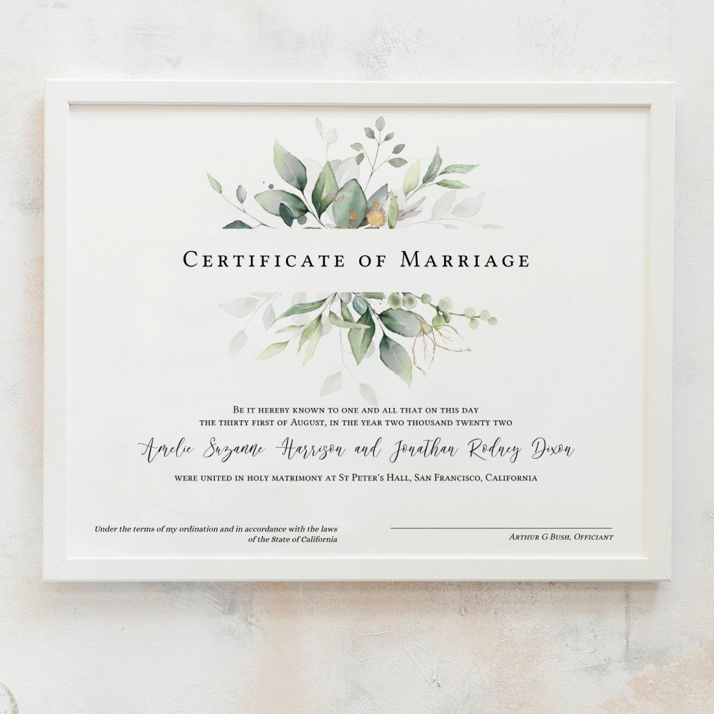 009 Rare Free Marriage Certificate Template High Def  Renewal Translation From Spanish To English Wedding DownloadLarge