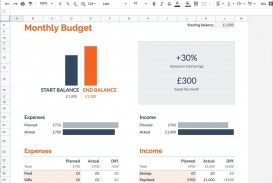 009 Rare Free Monthly Budget Template Idea  Household Excel Expense Report Download