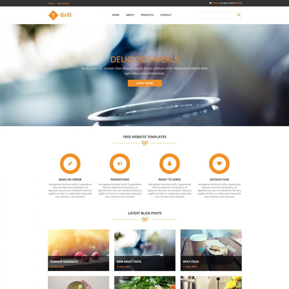 009 Rare Free Responsive Html5 Template High Def  Download For School Bootstrap Website960