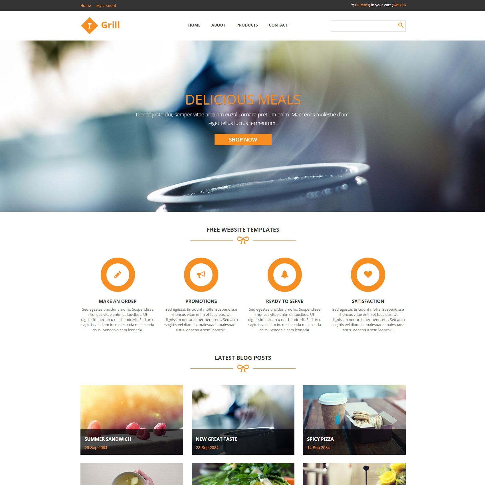 009 Rare Free Responsive Html5 Template High Def  Download For School Bootstrap WebsiteFull