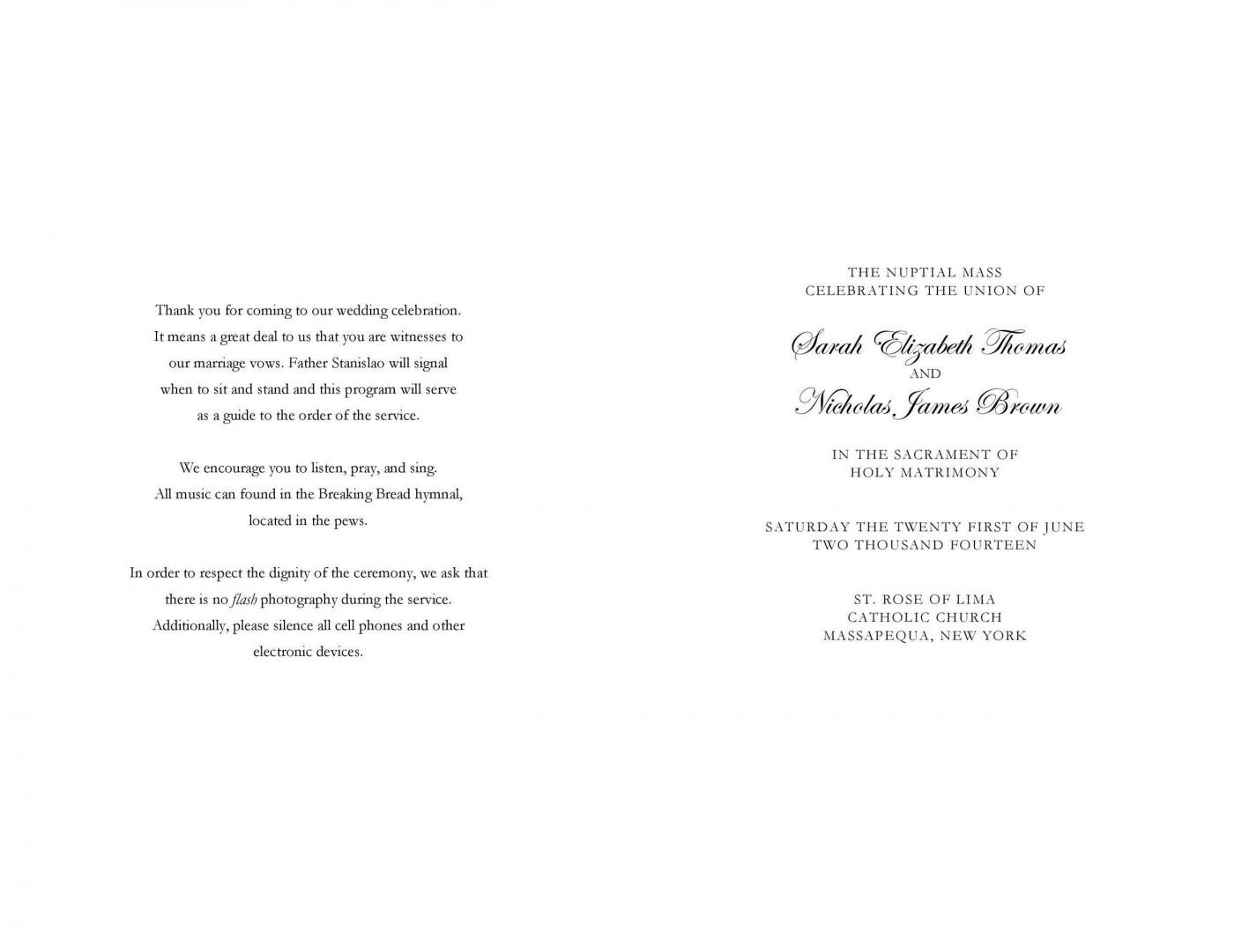 009 Rare Free Wedding Order Of Service Template Word Design  Microsoft1400