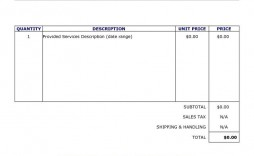 009 Rare Invoice Template For Word Concept  Example Download Blank Free