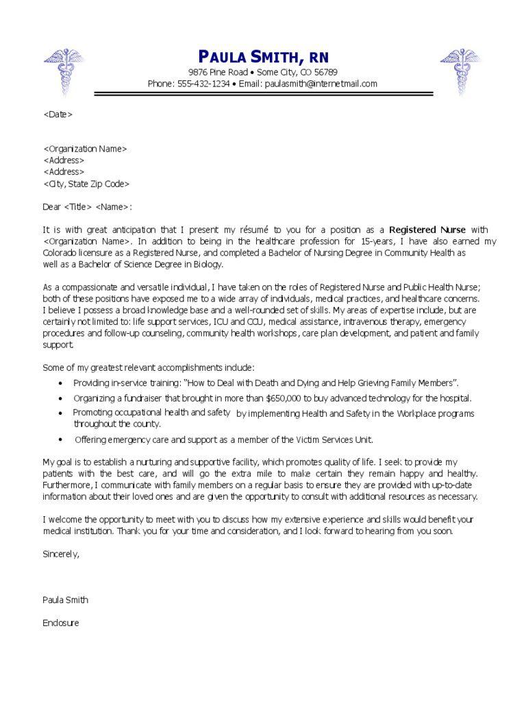 009 Rare Nursing Cover Letter Template Design  New Grad Word SchoolFull