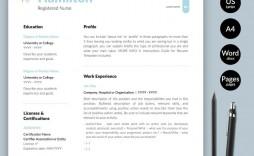 009 Rare Nursing Resume Template Word Example  Free Microsoft Nurse Cv Download Registered