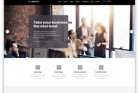 009 Rare One Page Website Template Free Download Html5 Idea  Parallax
