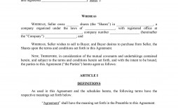 009 Rare Sale Agreement Template Word Picture  Contract Free Real Estate Land Format