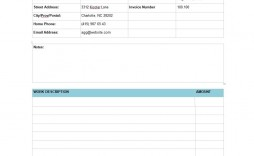 009 Rare Service Invoice Template Free Example  Auto Download Excel