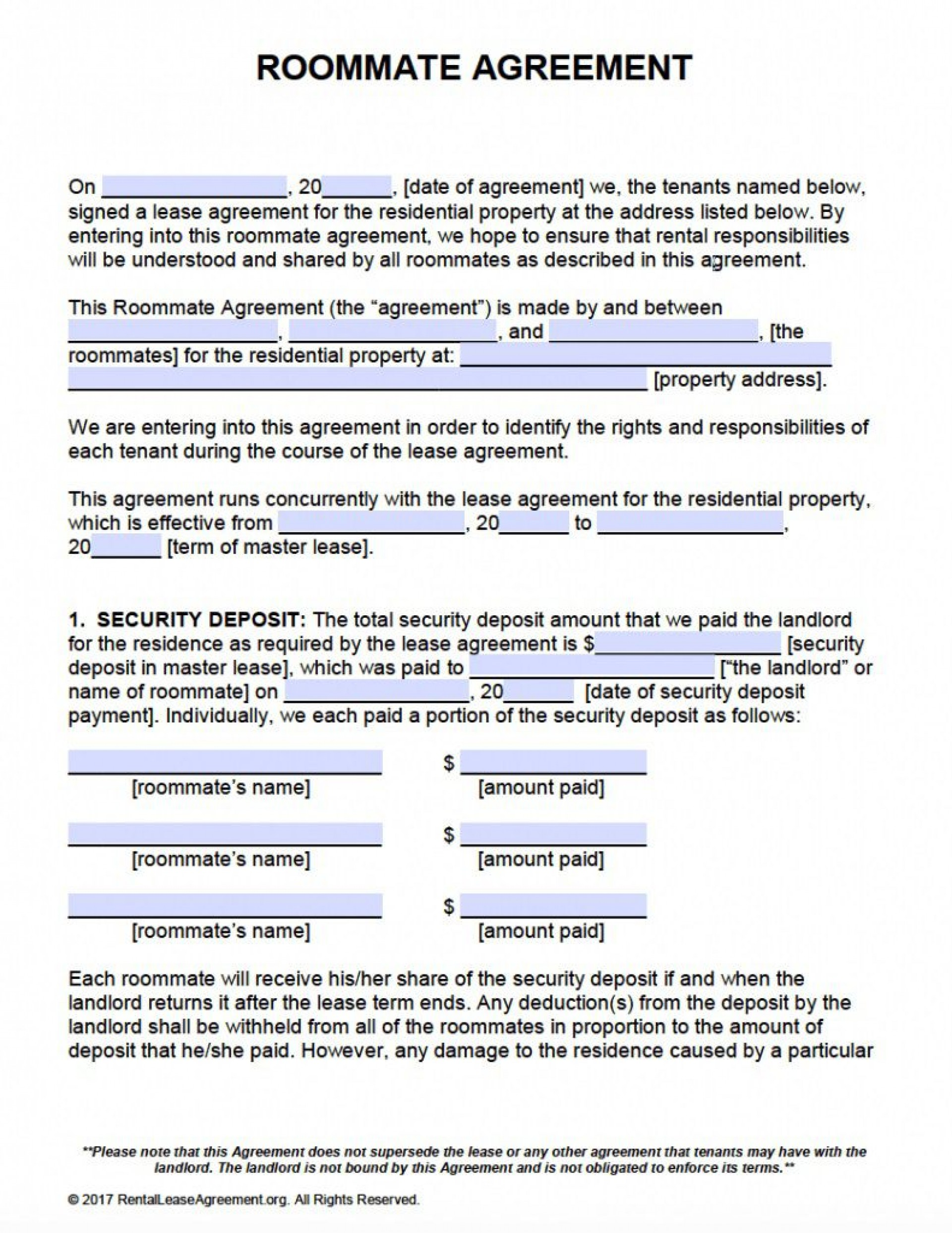 009 Remarkable Beat Lease Contract Template Sample  Unlimited Pdf1920