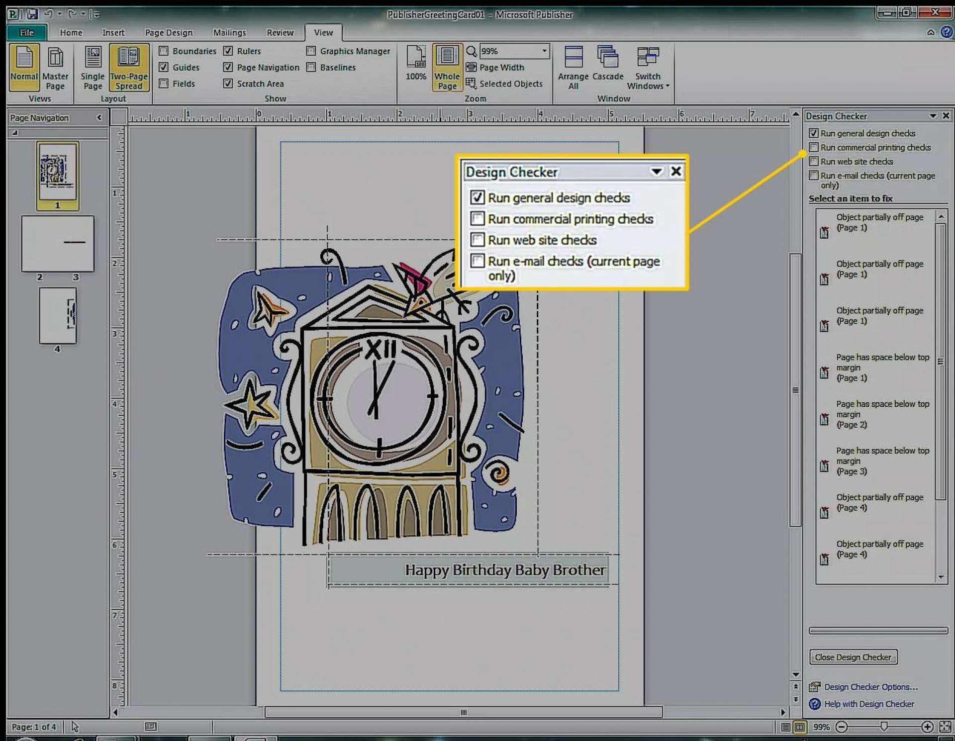 009 Remarkable Birthday Card Template For Word 2010 Highest Quality  Greeting Microsoft1920