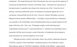 009 Remarkable Cold War Essay Highest Clarity  Title Thesi