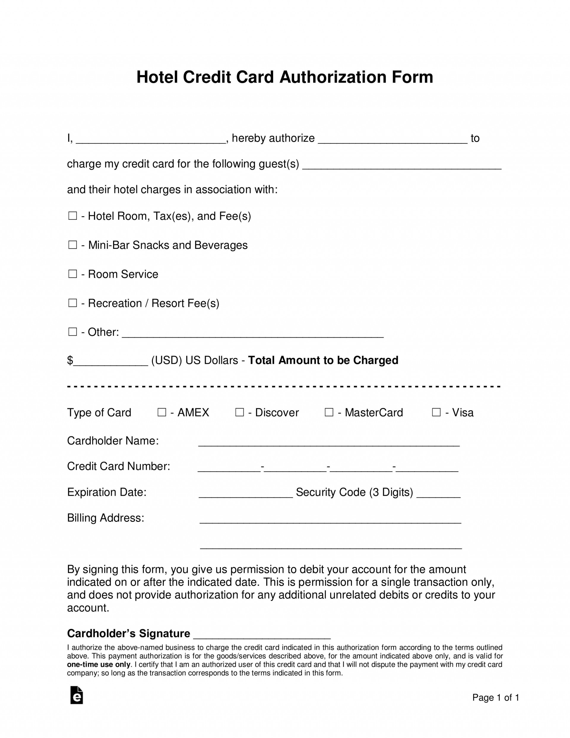 009 Remarkable Credit Card Template Word Highest Clarity  Authorization Hotel Form Slip1920