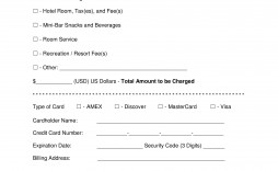 009 Remarkable Credit Card Template Word Highest Clarity  Authorization Hotel Form Slip