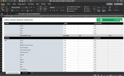009 Remarkable Easy Excel Budget Template Free Idea