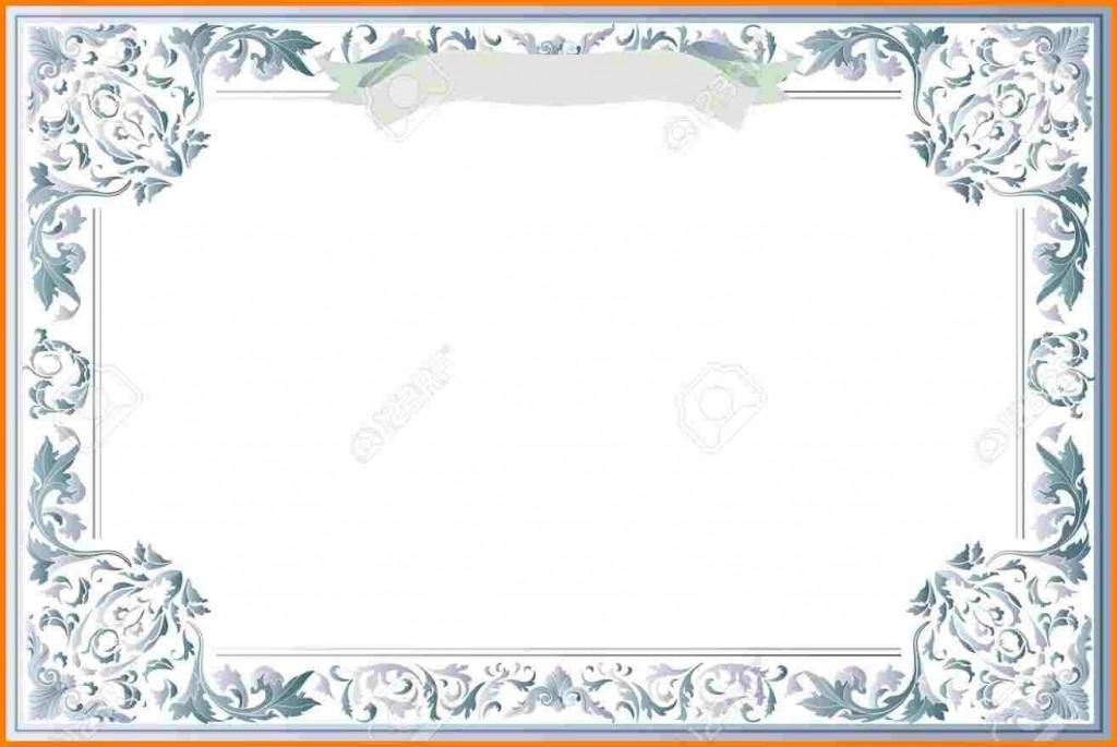 009 Remarkable Free Blank Certificate Template Photo  Templates Downloadable Printable And Award Gift For WordLarge