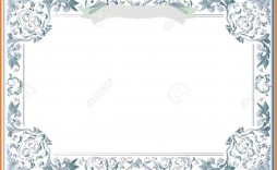 009 Remarkable Free Blank Certificate Template Photo  Templates Downloadable Printable And Award Gift For Word