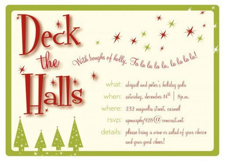 009 Remarkable Free Busines Holiday Party Invitation Template High Resolution  Templates Christma