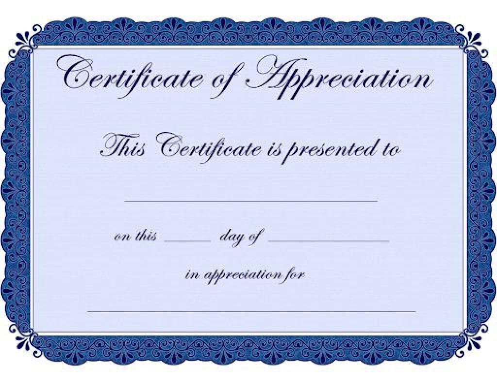 009 Remarkable Free Certificate Template Word Image  Blank For Microsoft Award Border DownloadLarge