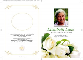 009 Remarkable Free Download Template For Funeral Program High Resolution 320