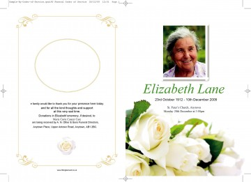 009 Remarkable Free Download Template For Funeral Program High Resolution 360