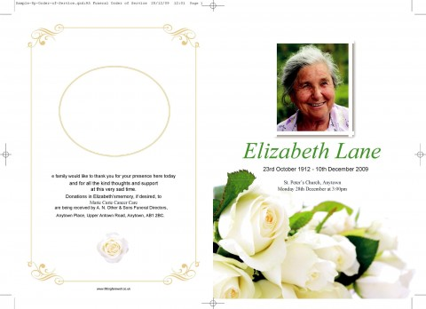 009 Remarkable Free Download Template For Funeral Program High Resolution 480