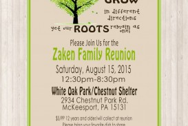 009 Remarkable Free Downloadable Family Reunion Flyer Template Photo