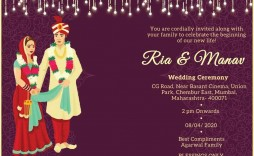009 Remarkable Free Online Indian Wedding Invitation Card Template Idea  Templates