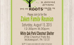 009 Remarkable Free Printable Family Reunion Invitation Template Highest Clarity  Templates Flyer