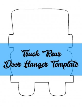 009 Remarkable Free Printable Template For Door Hanger High Definition 320