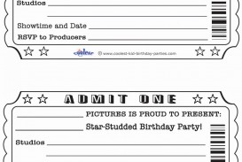 009 Remarkable Free Printable Ticket Template Example  Editable Airline Christma For Gift