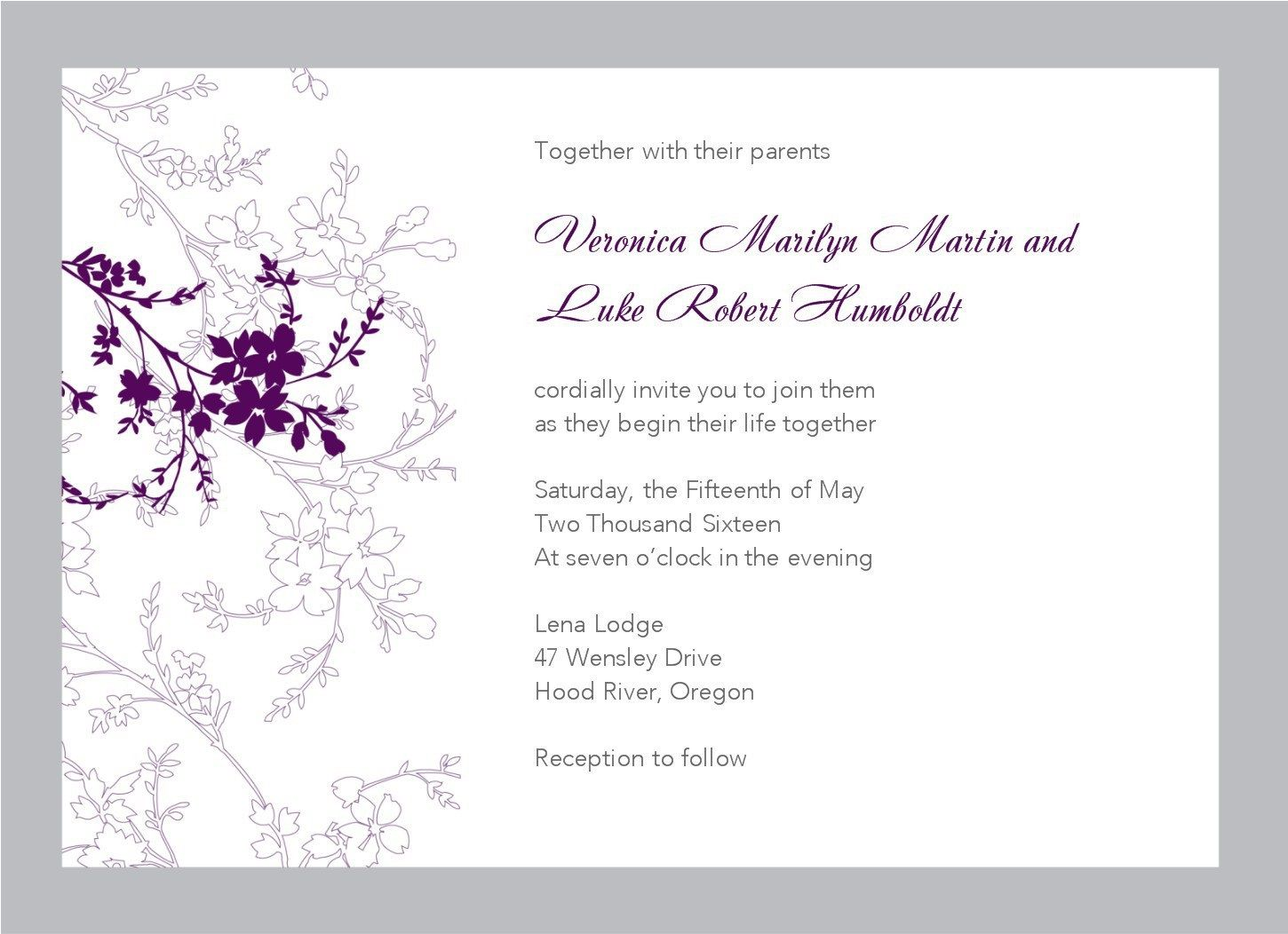 009 Remarkable Free Wedding Invitation Template For Word 2019 Design Full
