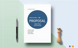 009 Remarkable Graphic Design Proposal Template Word Image
