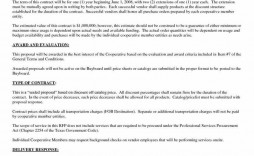 009 Remarkable Hvac Service Agreement Template Sample  Contract Form Maintenance Pdf