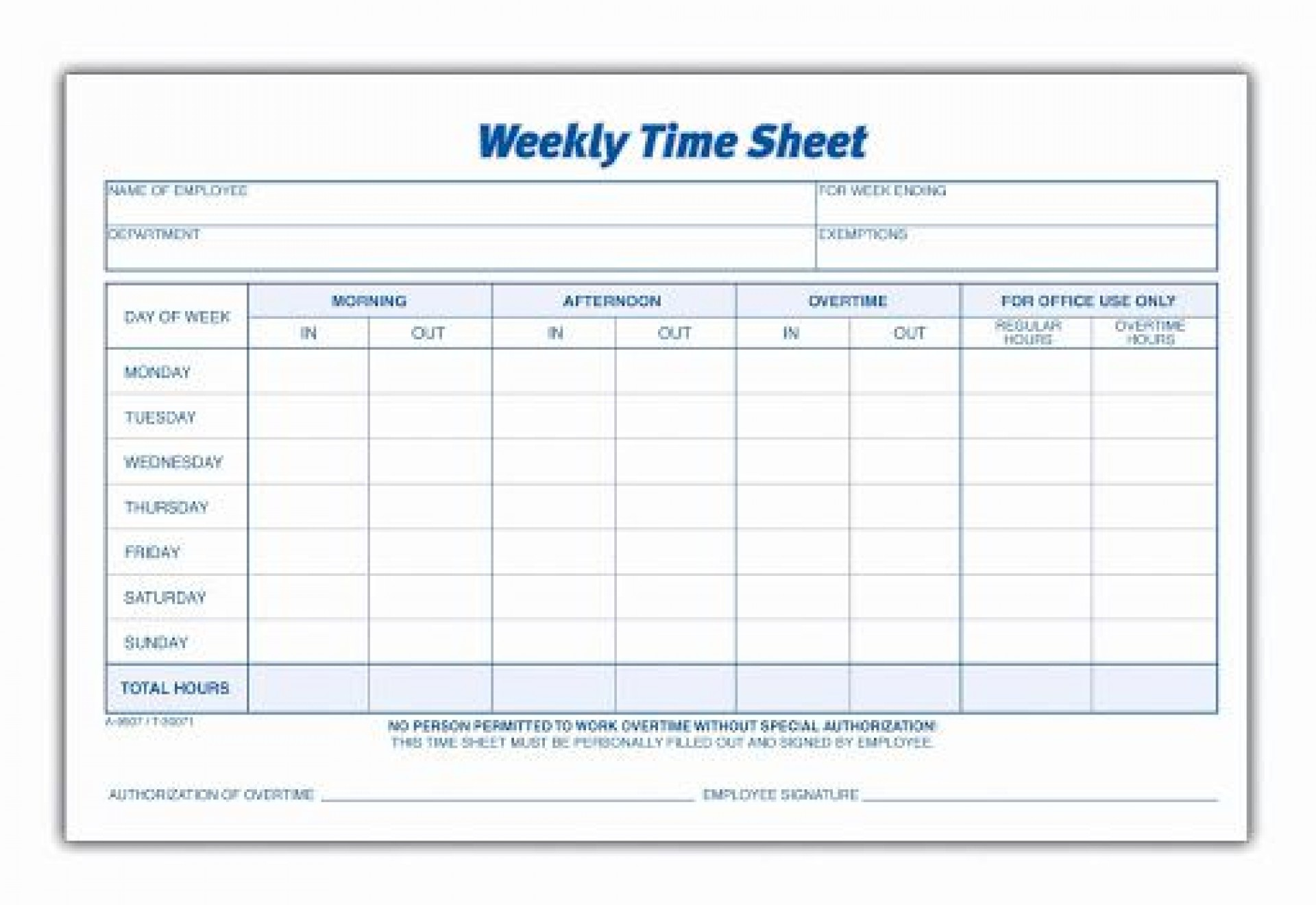 009 Remarkable Multiple Employee Time Card Template Highest Clarity 1920