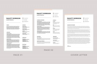 009 Remarkable Professional Resume Template 2018 Free Download High Definition 320