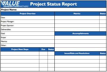 009 Remarkable Project Statu Report Template Example  Pdf Powerpoint Monthly360