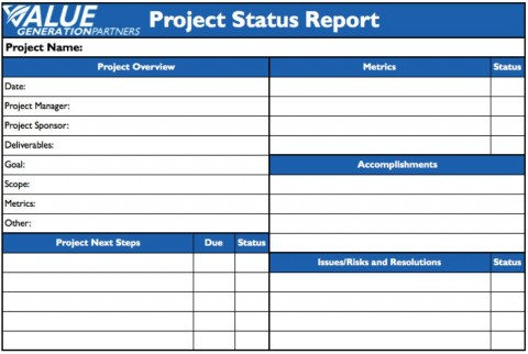 009 Remarkable Project Statu Report Template Example  Pdf Powerpoint Monthly480