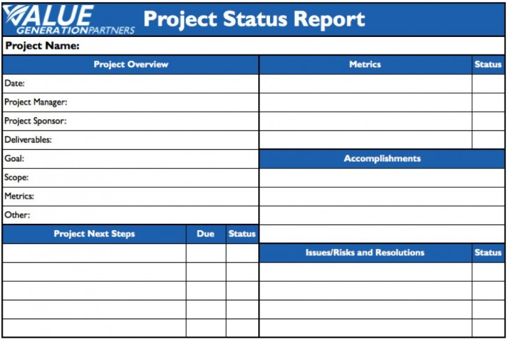 009 Remarkable Project Statu Report Template Example  Pdf Powerpoint Monthly728