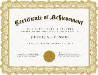 009 Remarkable Recognition Certificate Template Free Image  Employee Award Of Download Word320