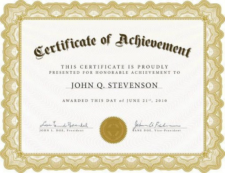 009 Remarkable Recognition Certificate Template Free Image  Employee Award Of Download Word728