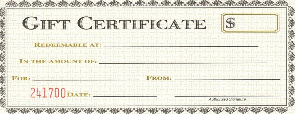 009 Remarkable Restaurant Gift Certificate Template Design  Templates Card Word Voucher FreeLarge