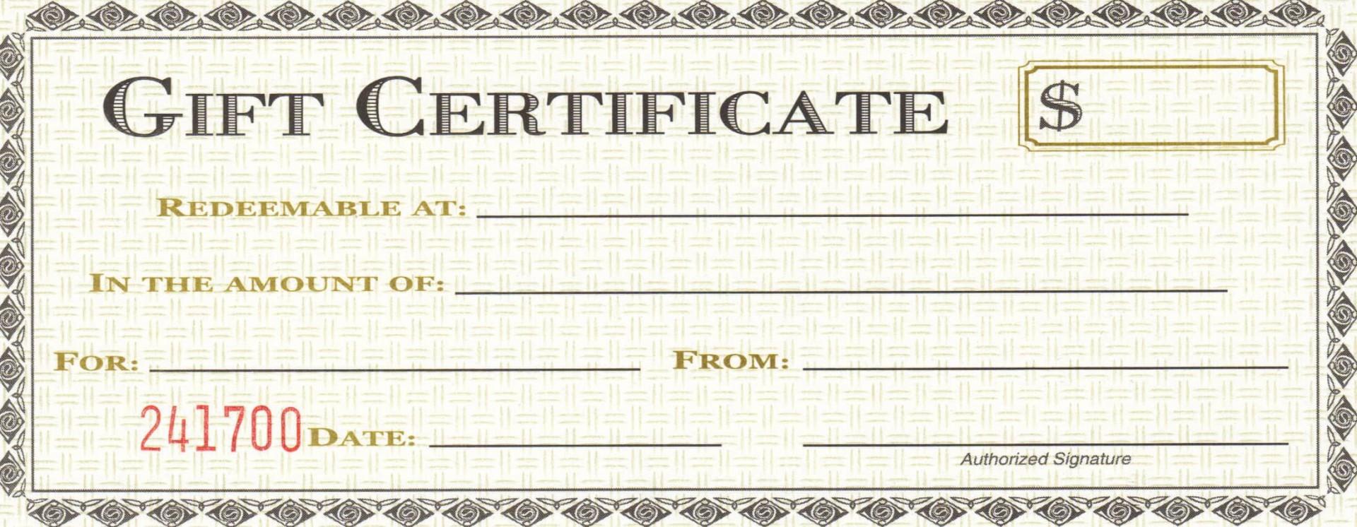 009 Remarkable Restaurant Gift Certificate Template Design  Templates Card Word Voucher Free1920