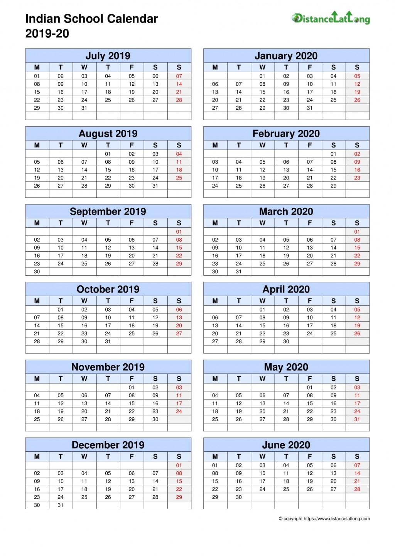 009 Remarkable School Year Calendar Template High Def  Excel 2019-20 WordLarge