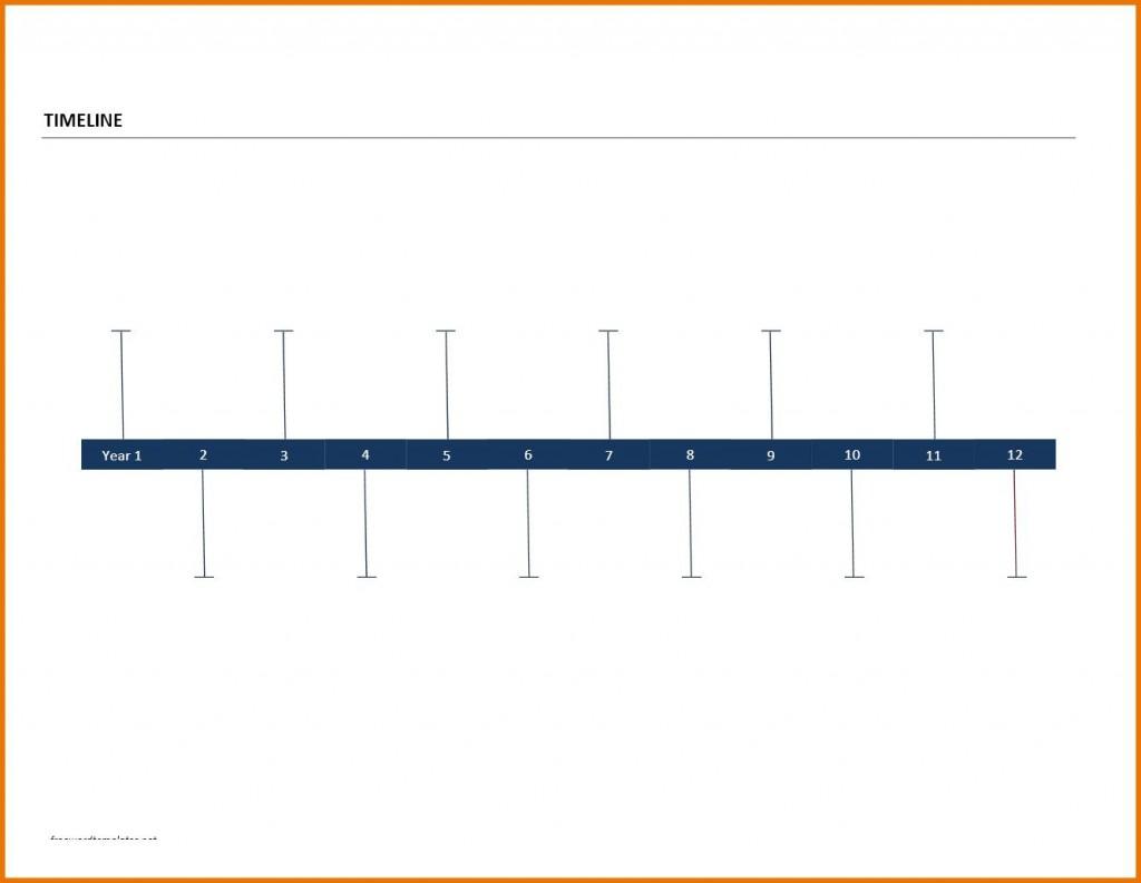 009 Remarkable Timeline Template For Word Inspiration  History DownloadableLarge