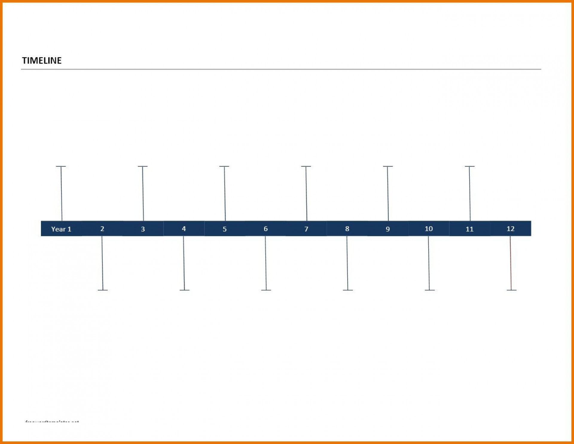 009 Remarkable Timeline Template For Word Inspiration  History Downloadable1920